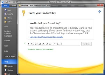 Гдe можно скачать действительный серийный ключ для Microsoft.