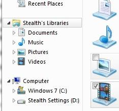 Cum putem personaliza numele Windows Libraries in Windows 7 Libraries
